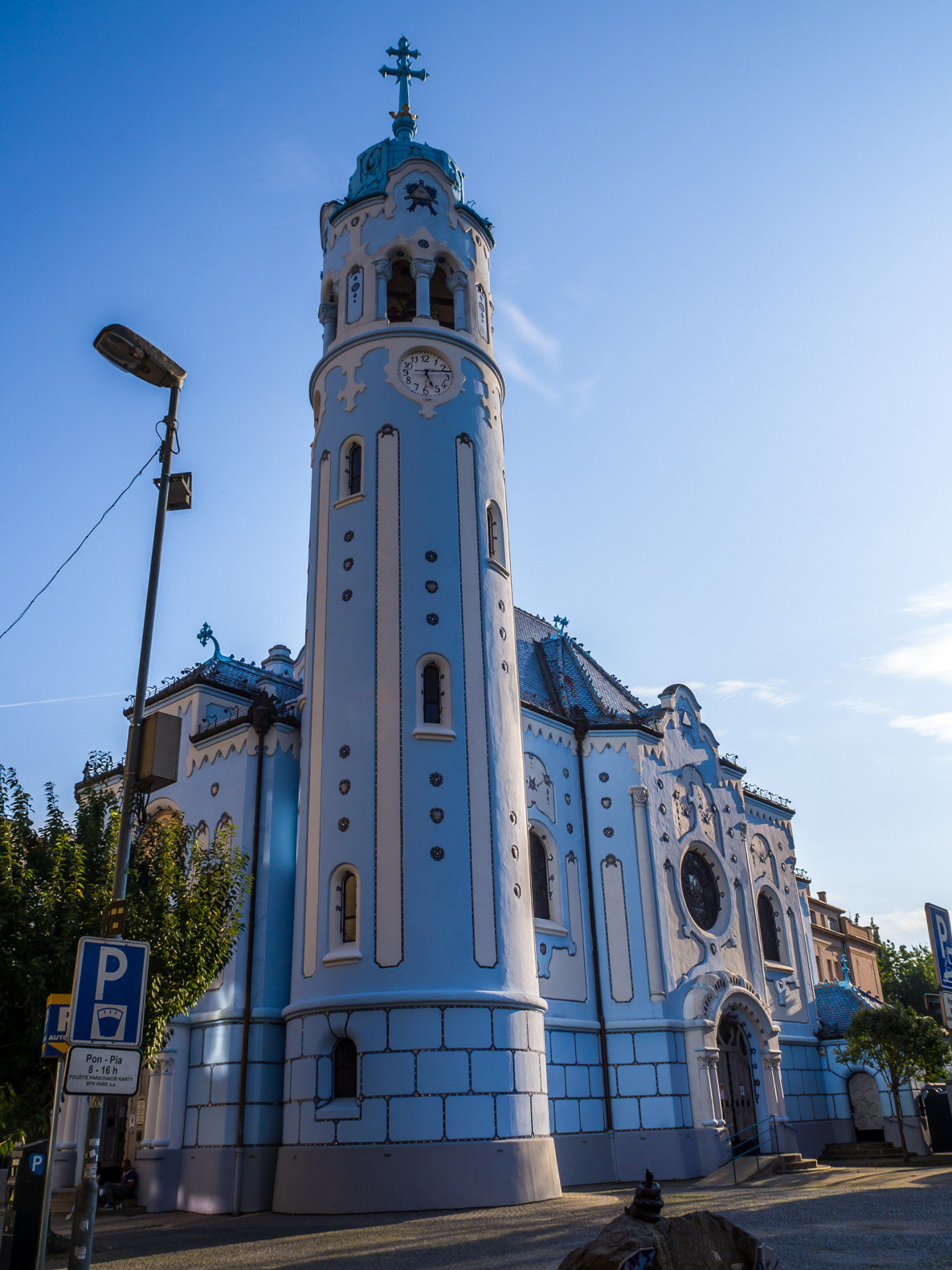 Things to do in Bratislava: The Blue Church
