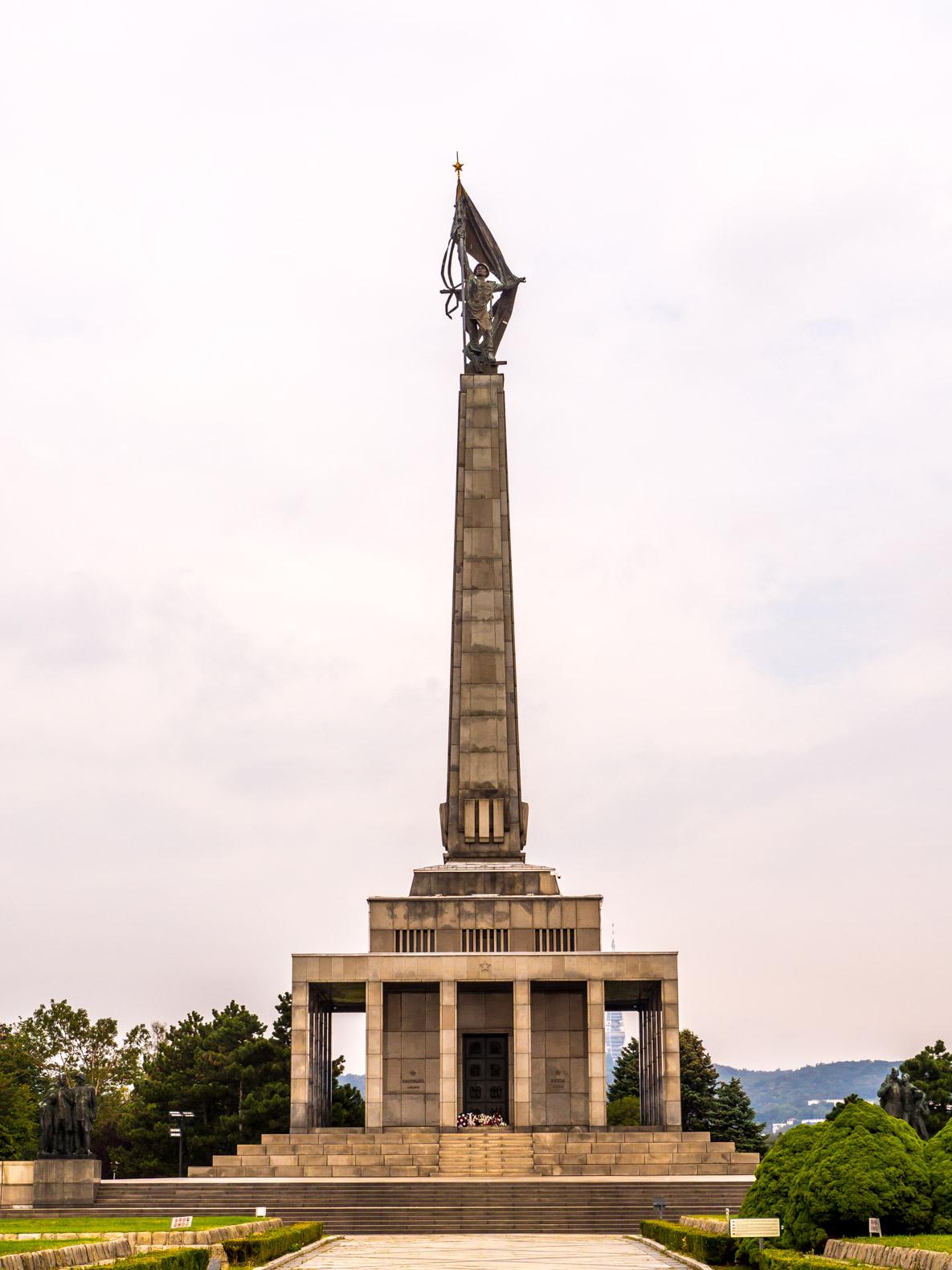 Bratislava things to do: visit the Slavin Memorial