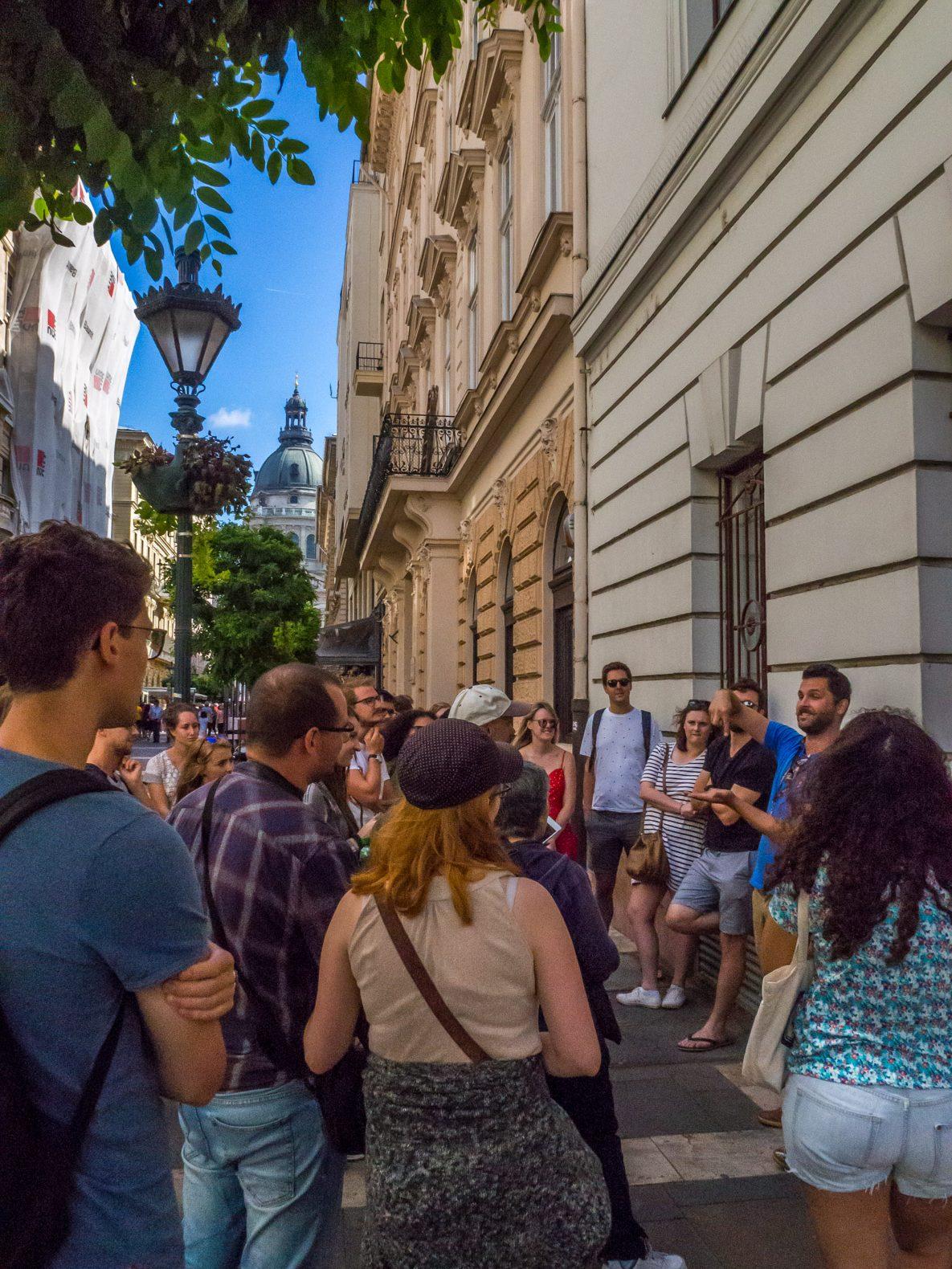 Budapest things to do: take a free walking tour