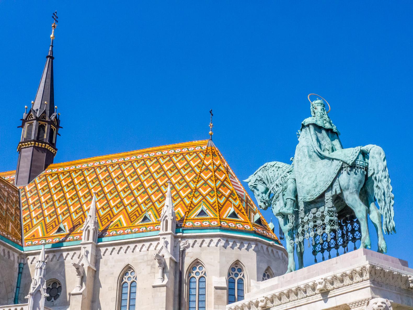 Budapest things to do: Matthias Church