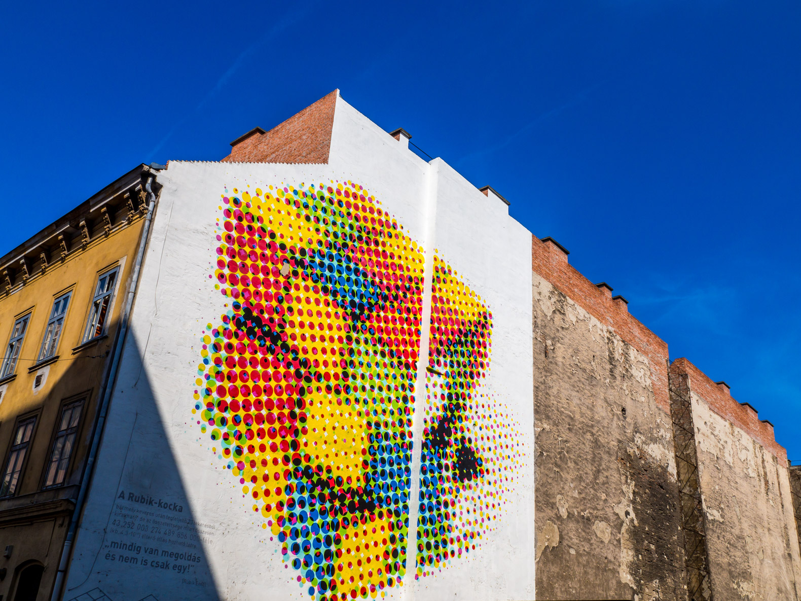 Budapest things to do: admire the street art