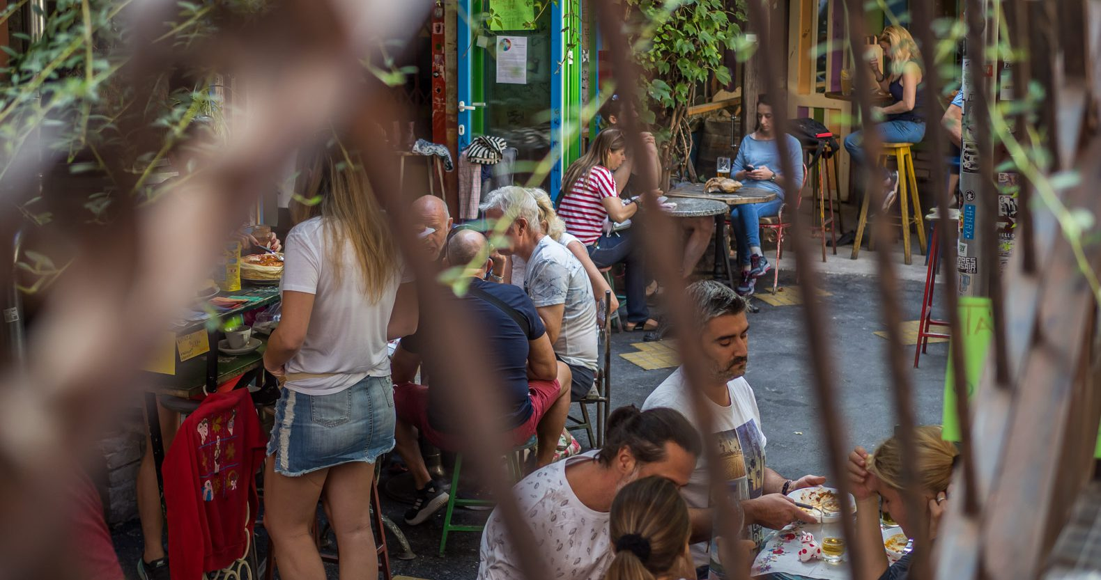 Farmers Market as Szimpla Kert: the number one ruin pub in Budapest