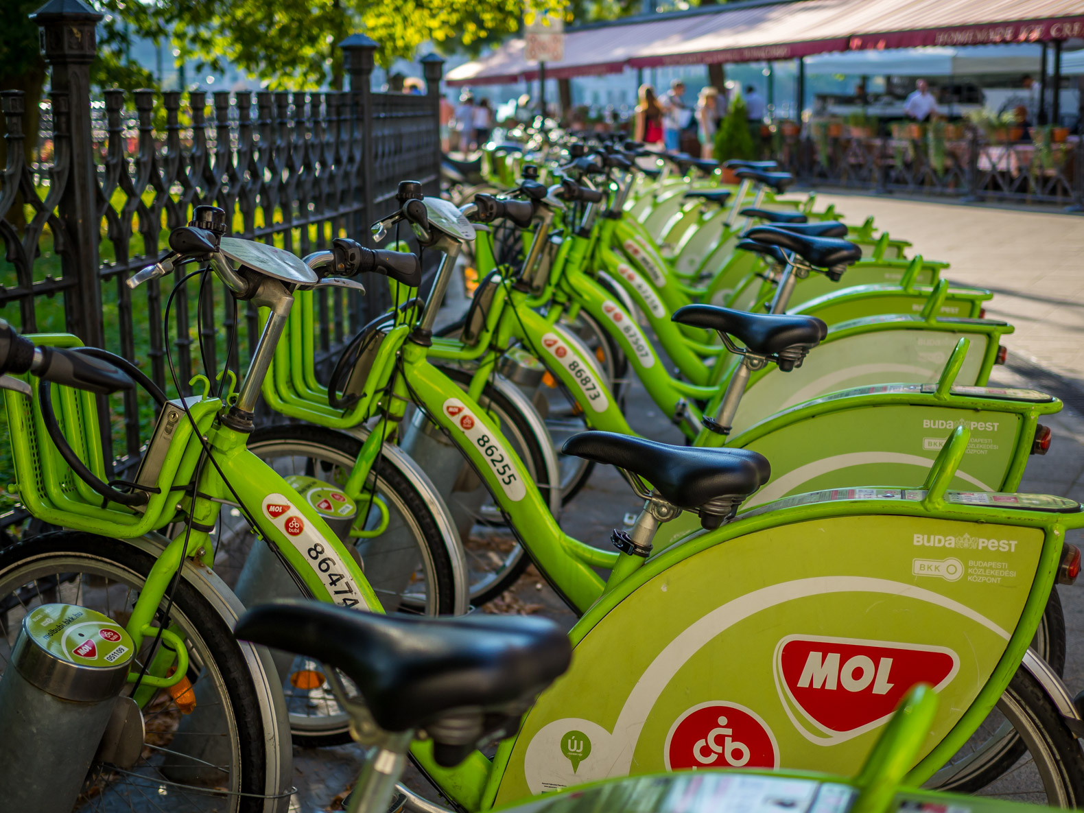 Budapest things to do: rent a city bike