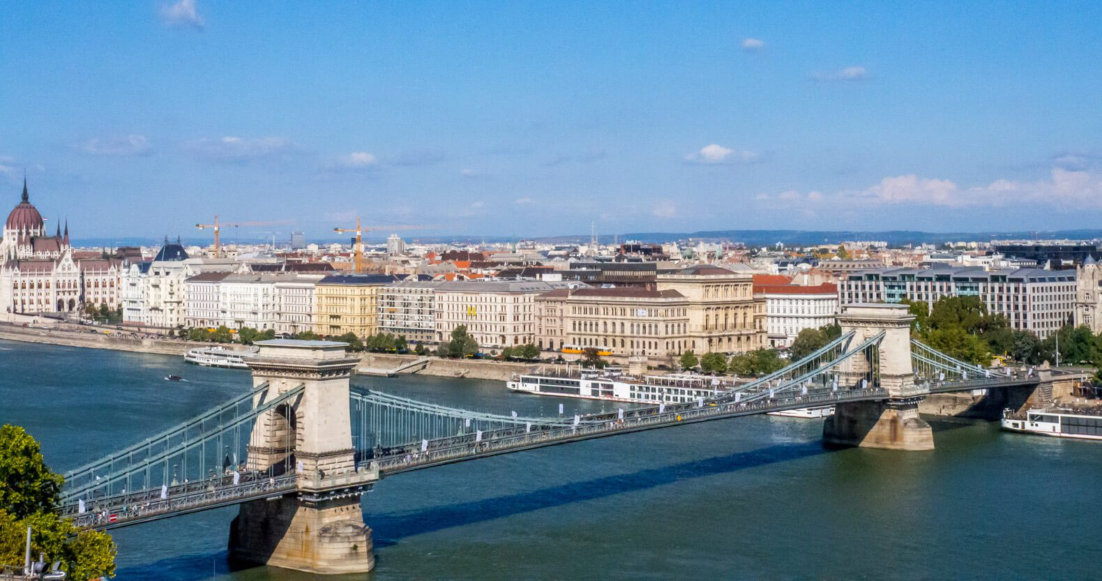 Our Central Europe Itinerary - From Vienna to Budapest - Széchenyi Chain Bridge Budapest