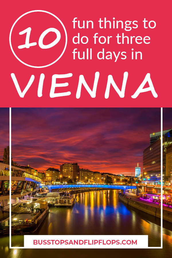 Here's our top 10 of Vienna things to do! We spent an awesome 3 days in the beautiful capital of Austria during our Central Europe trip. We've compiled this list of great sights, activities and food for you to incorporate into your Vienna itinerary. Go check it out!