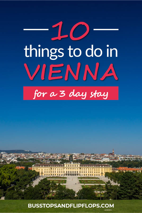 Got 3 days to spend in Vienna? Don't miss these 10 top things to do in Vienna, Austria! We'll tell you where to get the best Vienna sausages, ride the oldest ferris wheel in the world and visit a traditional Viennese wine tavern. You can't miss these Vienna things to do on your Vienna itinerary!