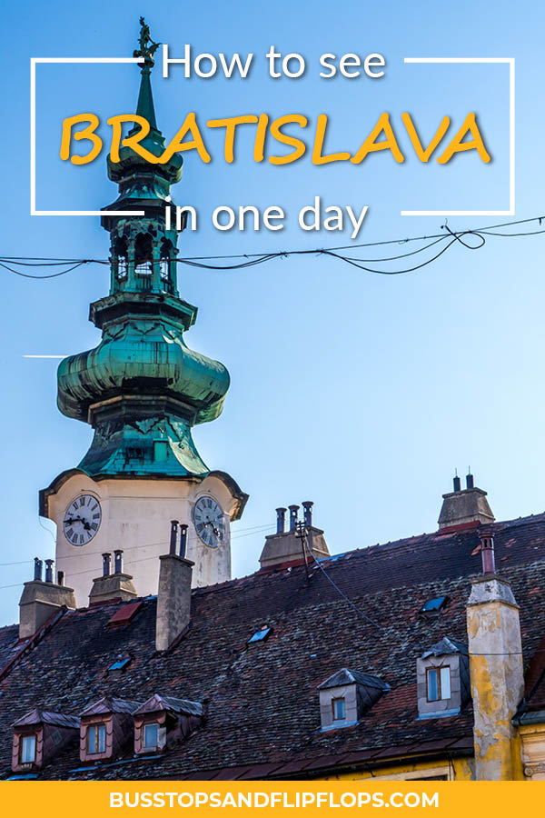 Bratislava is the capital of Slovakia and is a lovely old town; great to visit as a day trip from Vienna. We've gathered the highlights and things to do for when you've got max. 24 hours in Bratislava!