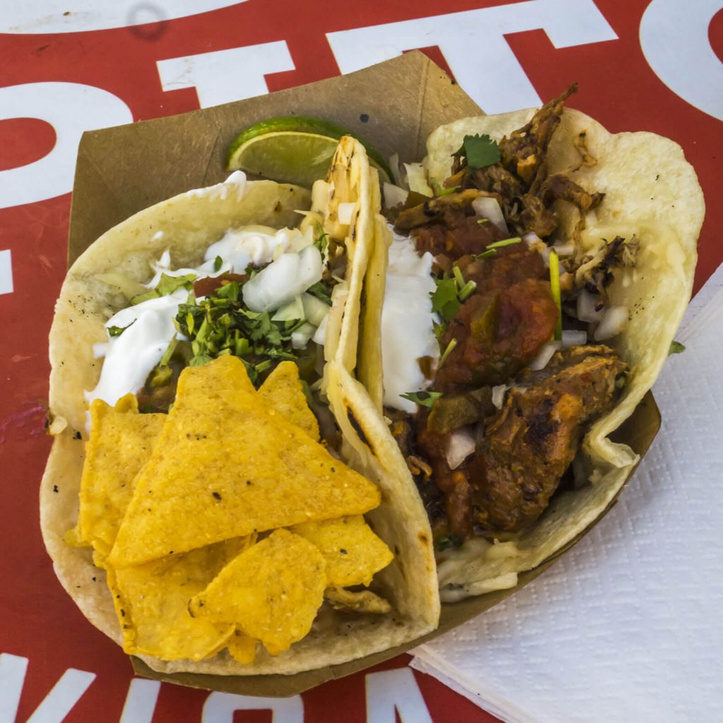 One of the best places to eat in Budapest: Papitos Mexican street food