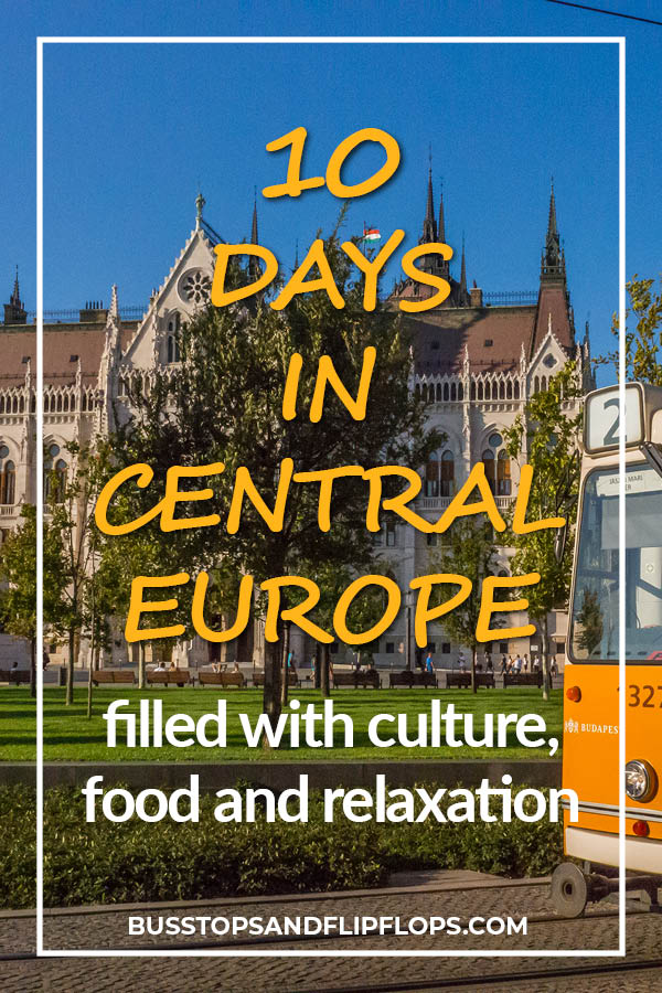 From Vienna via Bratislava to Budapest: this is our ultimate Central Europe itinerary. Perfect for lovers of culture, food and relaxation. We'll show you which things to do and where to stay!