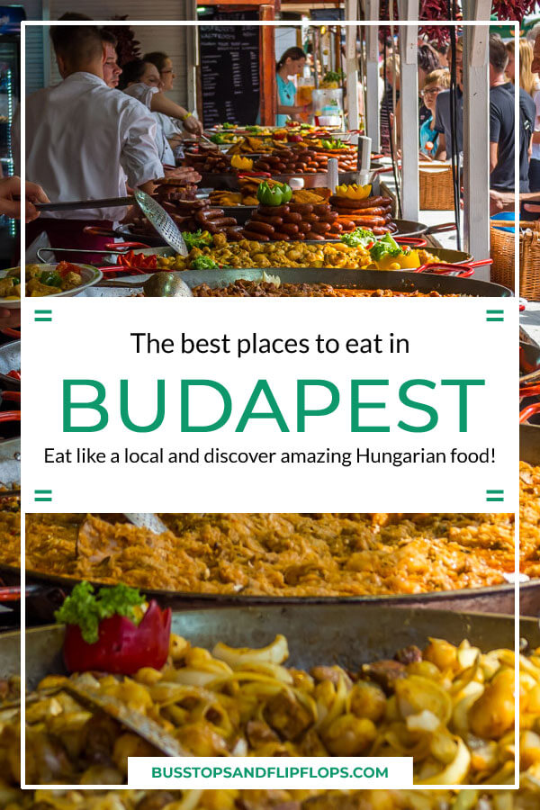 Eat like a local and discover the most delicious places to eat in Budapest. We'll show you where to eat in Budapest: from langos to gulyas and from ruin pubs to the great market hall!