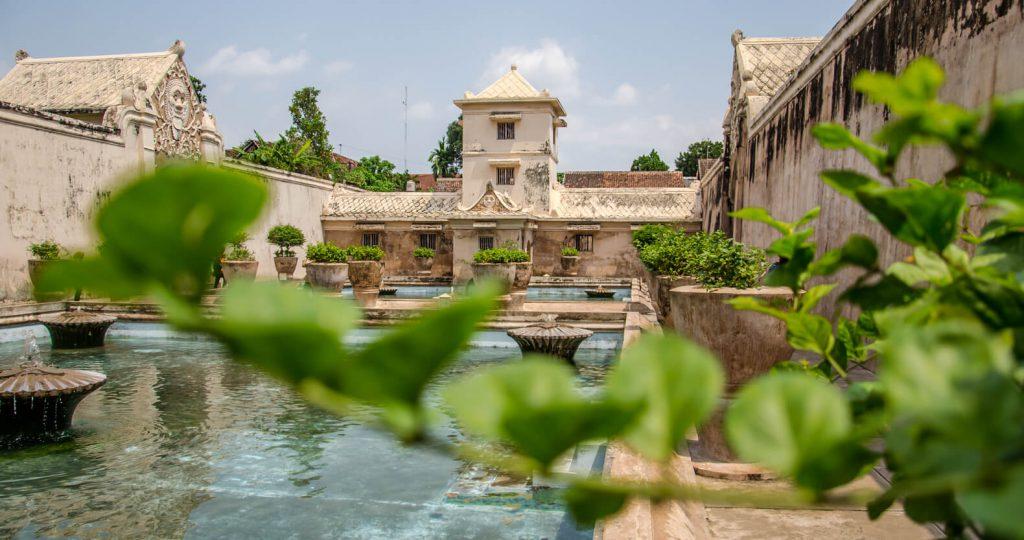 Awesome things to do in Yogyakarta - Baths at Taman Sari