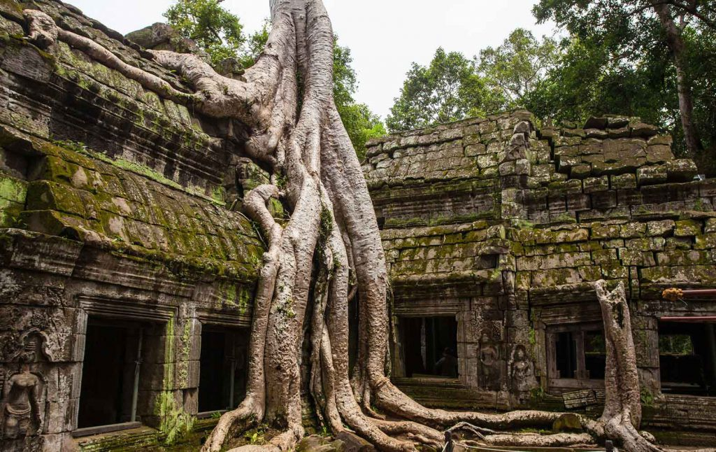 Angkor Wat - we expect this to be one of the highlights of our round the world trip!