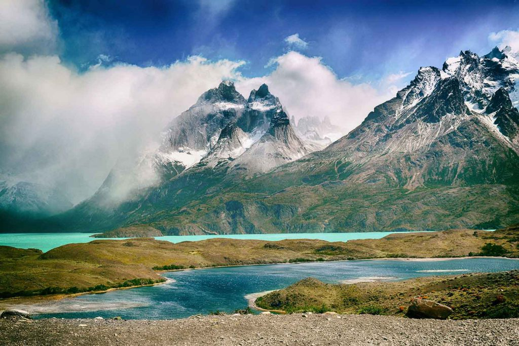 As part of our RTW trip we'll be visiting the stunning mountains and lakes in the Torres del Paine National Park