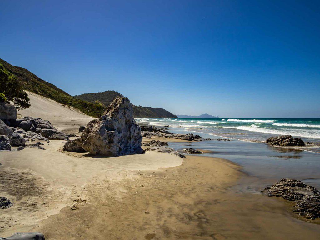 Manghaway Heads Beach in Northland, New Zealand