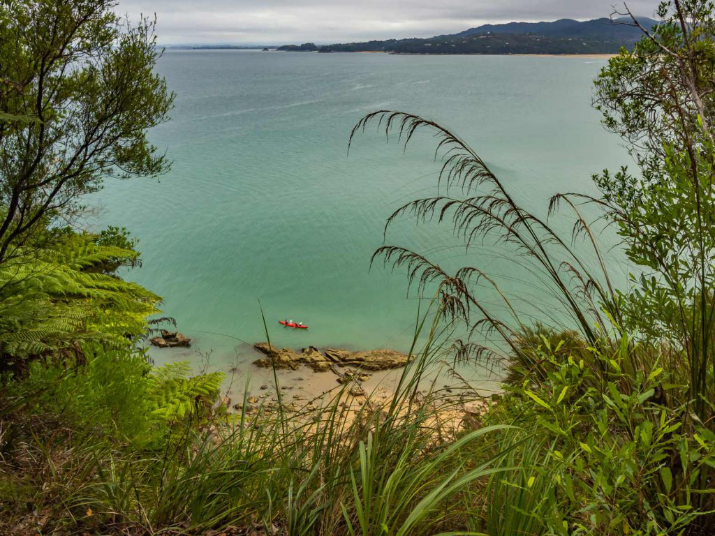 View from Abel Tasman Coast Track, New Zealand South Island