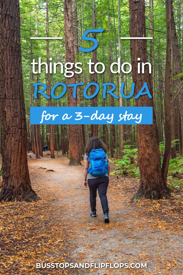 Rotorua is the place to be on the North Island of New Zealand! Check out these 5 exciting things to do in Rotorua on a three day stay!