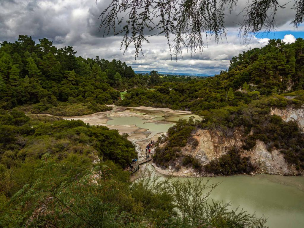 Rotorua things to do: visit a Geothermal Park