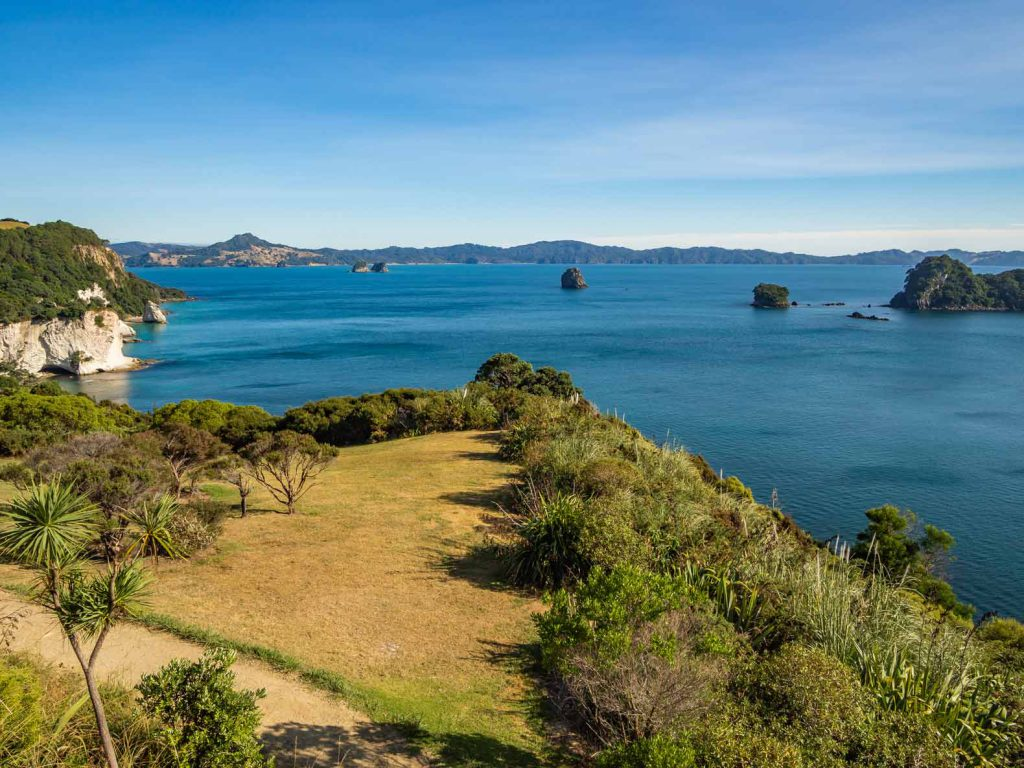 One of the best short New Zealand hikes takes you to Cathedral Cove