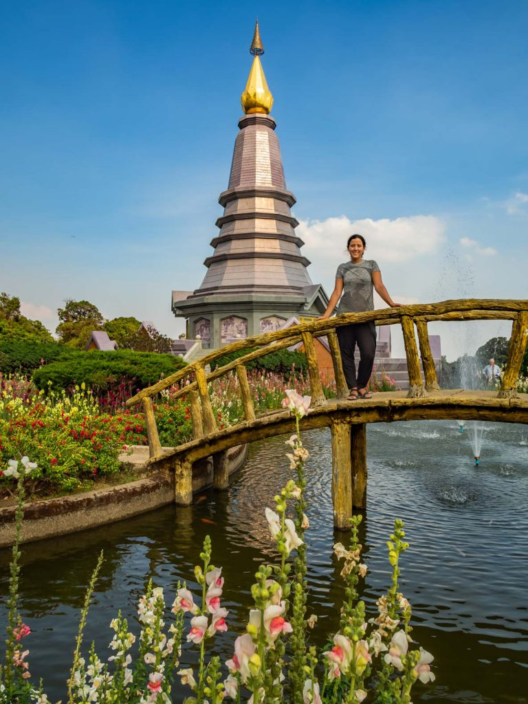 Visiting the Doi Inthanon temples on the Mae Hong Son Loop