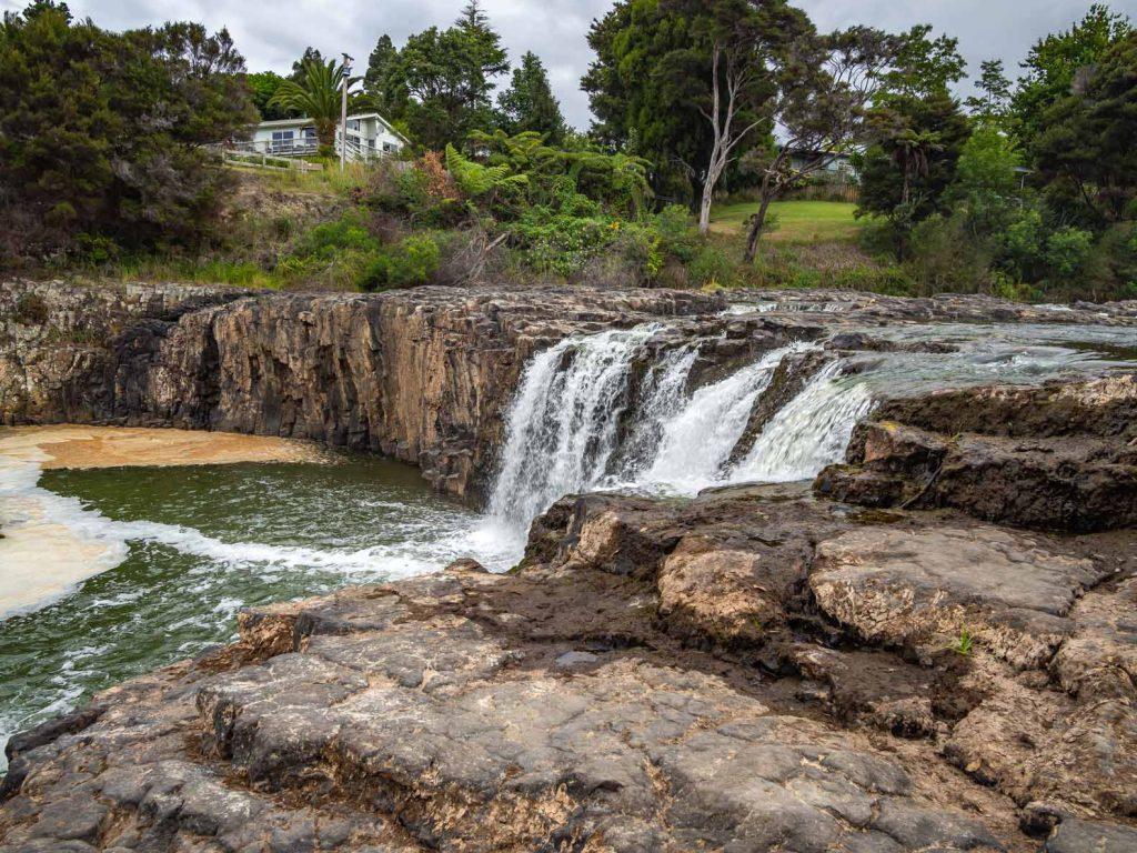 Haruru Falls in Paihia New Zealand