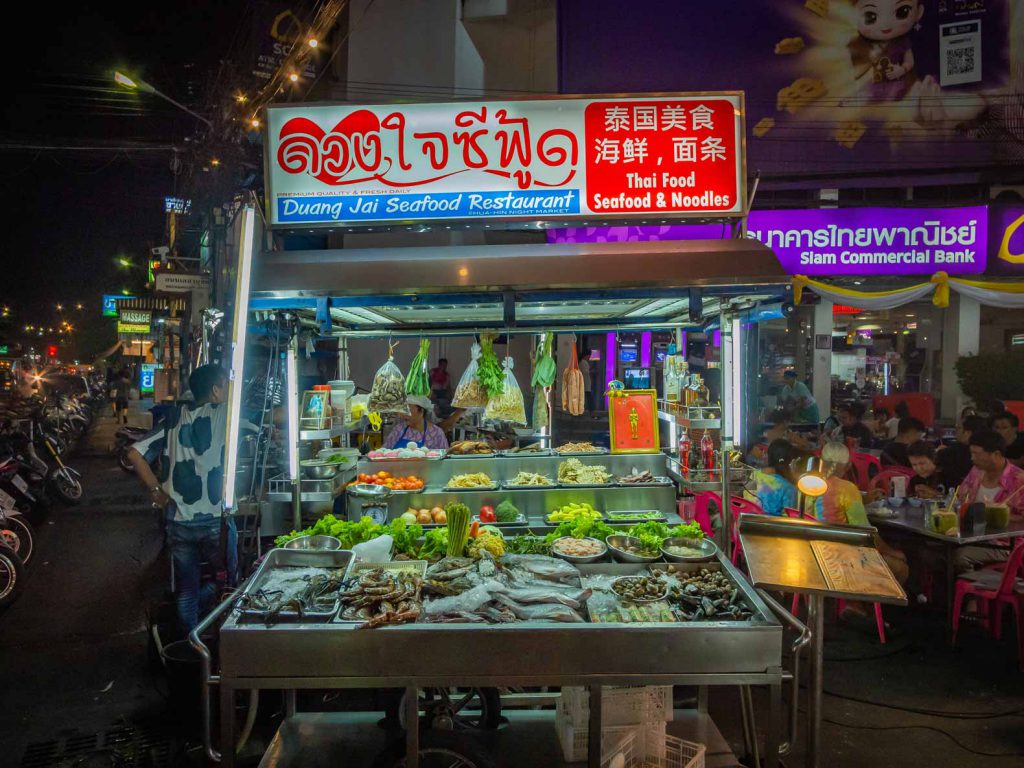 Hua Hin Night Market, recommended for your Southern Thailand Itinerry