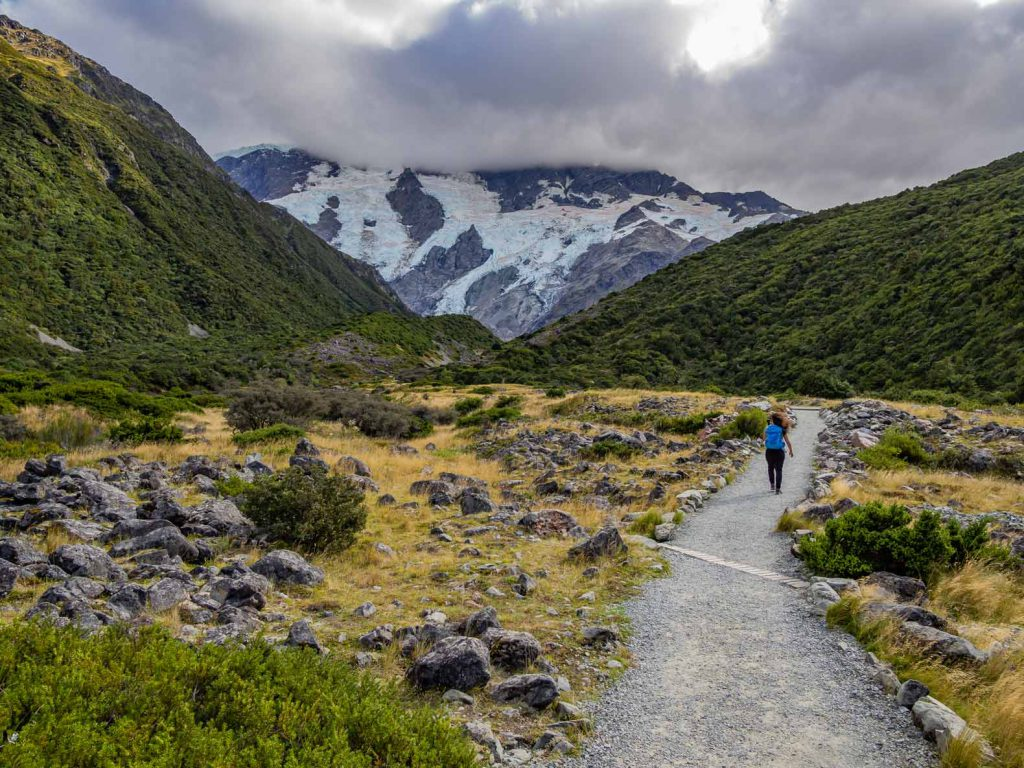 South Island Hike - Kea Point, Mount Cook
