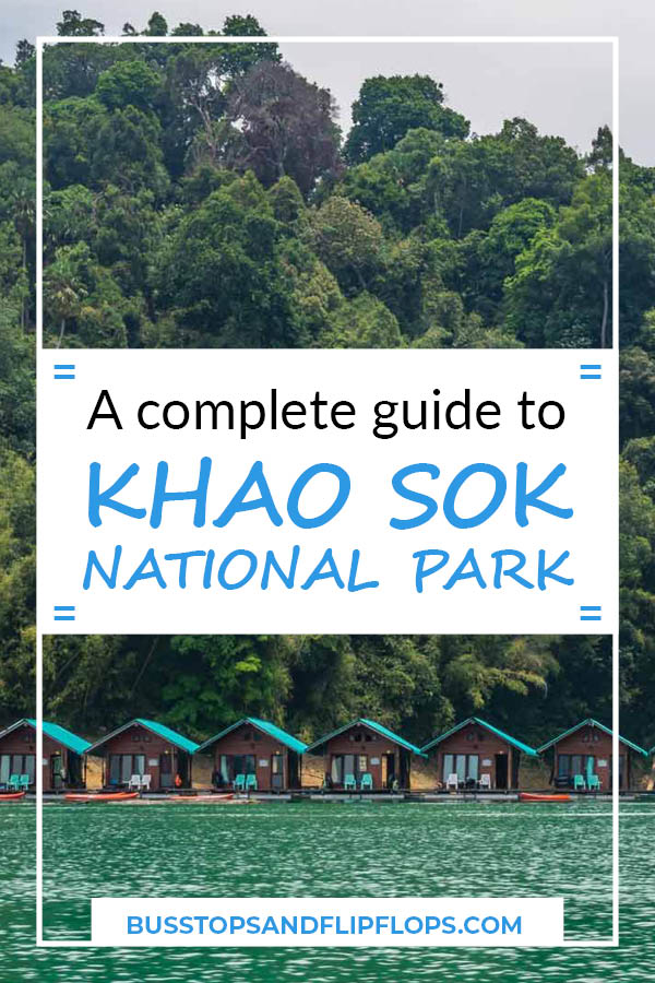 Your complete guide to Khao Sok National Park: the hidden gem of southern Thailand. Go check it out and make sure to include a Khao Sok Lake Tour in your visit!