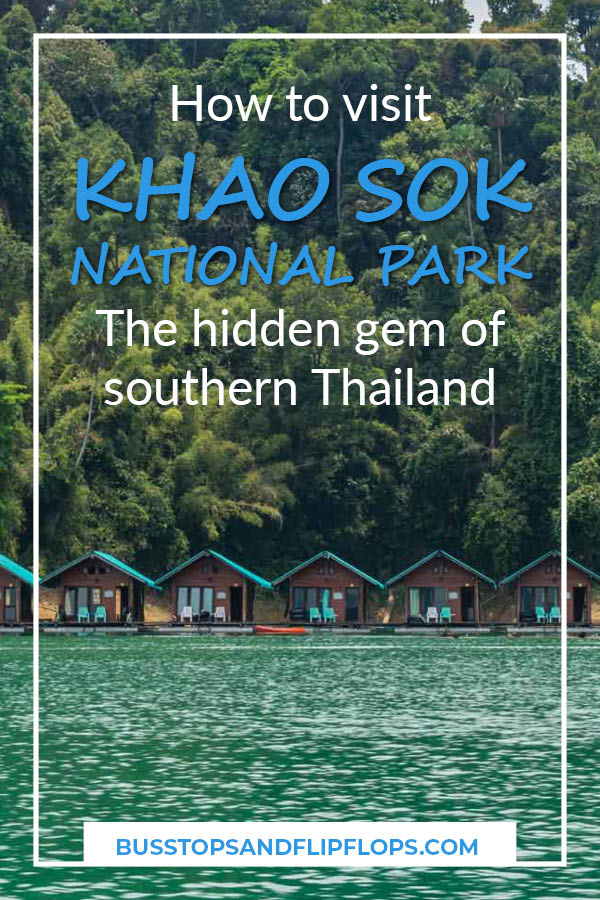 Don't miss Khao Sok National Park: the hidden gem of South Thailand! From jungle to caves and from karst cliffs to Chew Lan Lake, Khao Sok National Park has everything you could want during your holidays.