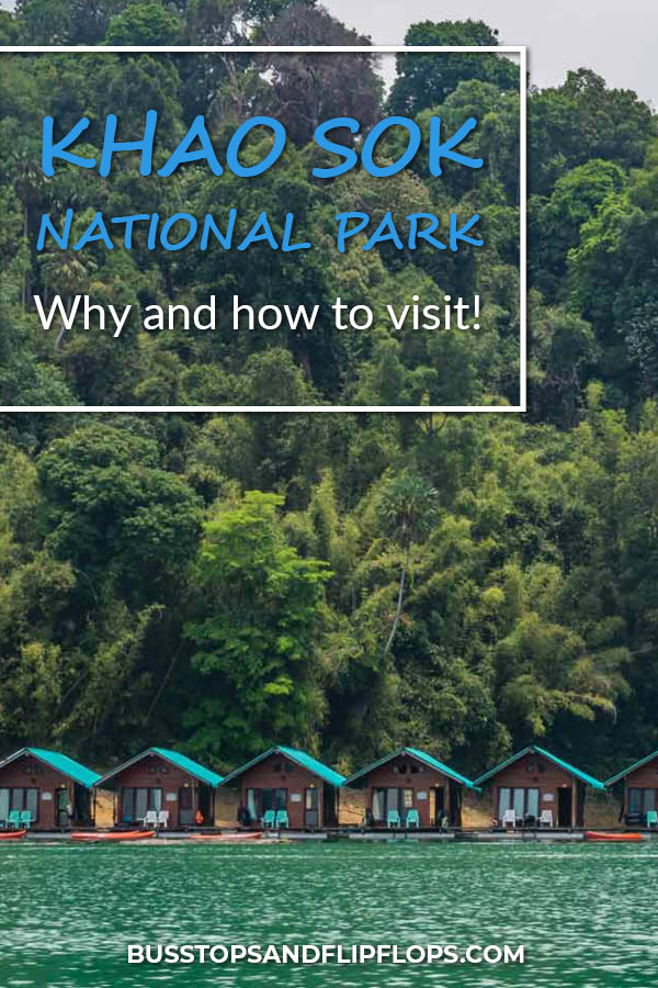 No visit to Khao Sok National Park is complete without a Khao Sok Lake Tour. Read all about why and how to visit Khao Sok in Thailand!