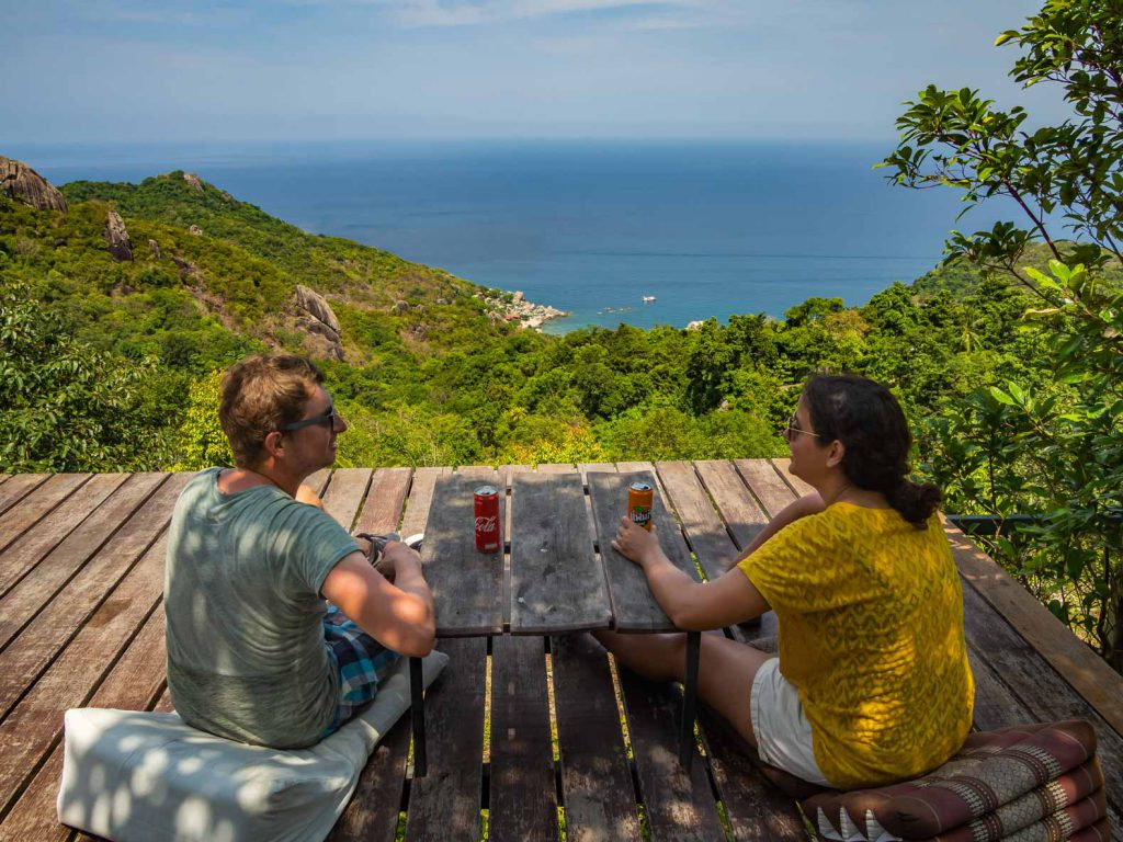 Viewpoint on Koh Tao, fun things to do on a South Island Itinerary