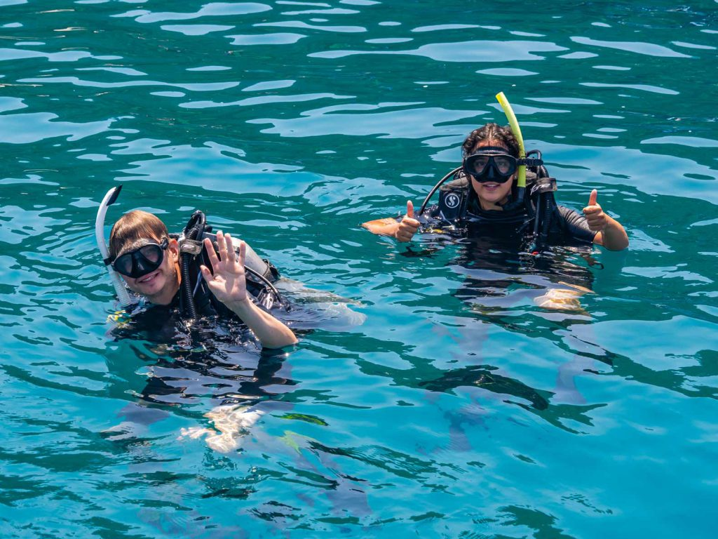 Diving on Koh Tao on our Southern Thailand Itinerary