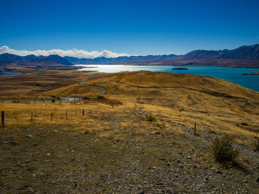 Lake Tekapo walk, South Island, New Zealand