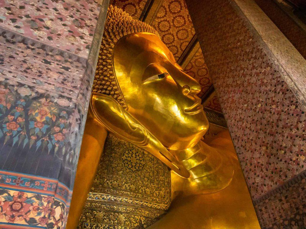 The Reclining Buddha at
