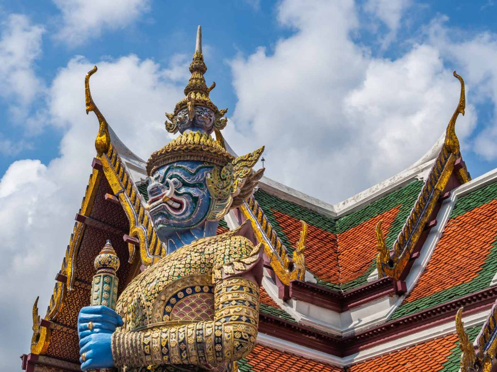 Start your 3 week Southern Thailand itinerary by visiting the temples of Bangkok.