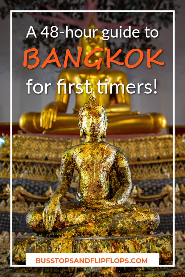 Bangkok is the gateway to Southeast Asia and the city itself hosts a lot of great Bangkok attractions! Read all about what we did  during our 48-hour stay in Bangkok!