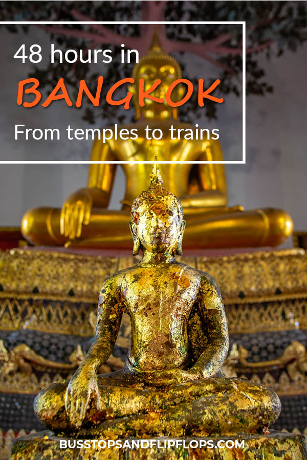The capital of Thailand is big and bustling! There are a lot of awesome Bangkok attractions for you to explore. Read our post about which amazing highlights we visited during our 48 hour stay!