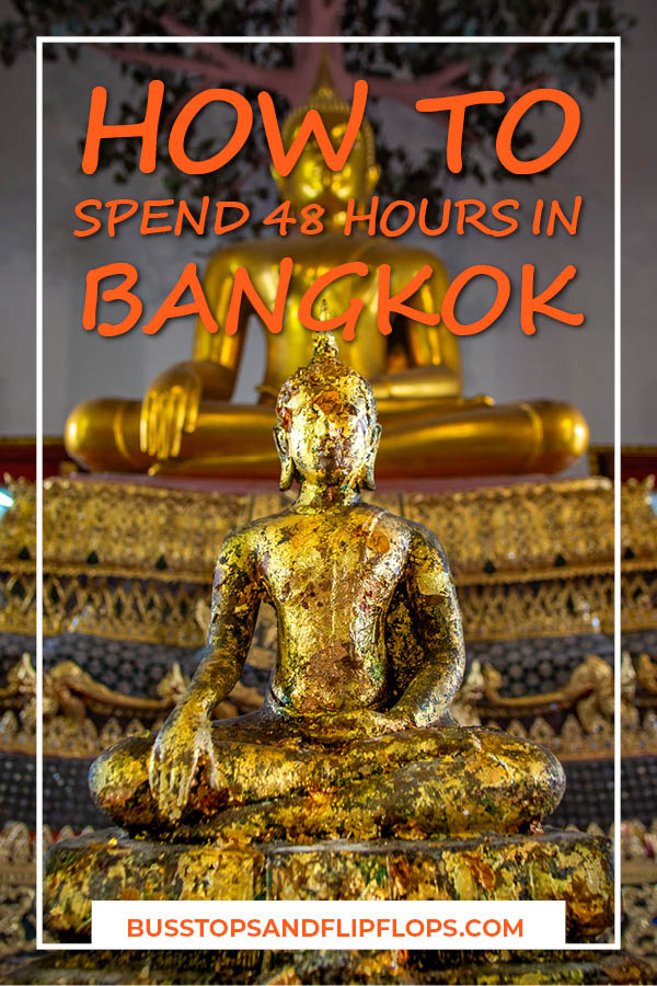There's a lot to see in the capital of Thailand! But what if you have limited time and you want to see the best of the Bangkok attractions? Read on about what we did with our 48 hours in Bangkok!
