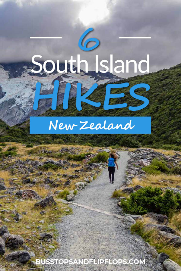 Hiking is the number one activity on any trip to New Zealand. We've therefore selected our six favorite South Island hikes, so you get to see the most dramatic landscapes, highest mountains and most spectacular views!