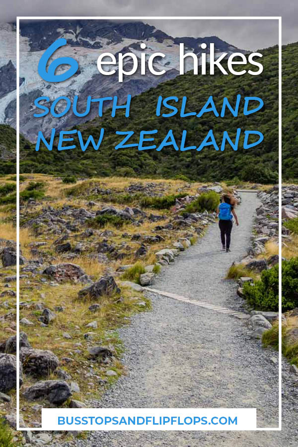Check out these 6 epic South Island hikes! What better way to get your blood pumping while enjoying the beautiful scenery of New Zealand?