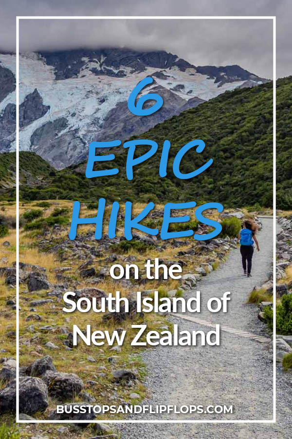 Planning a trip to New Zealand? Then these 6 epic South Island hikes absolutely must go on your itinerary! Of all things to do in New Zealand, hiking will give you the most satisfaction because of all the amazing views you will get. Check out our blog post!
