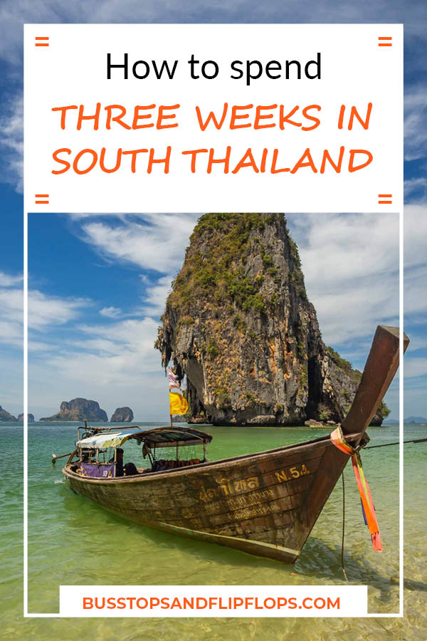 A complete itinerary for 3 weeks in South Thailand. Highlights include Bangkok, Khao Sok National Park and Koh Tao. Plus the bonus destination of Hua Hin. Go check out our South Thailand itinerary!