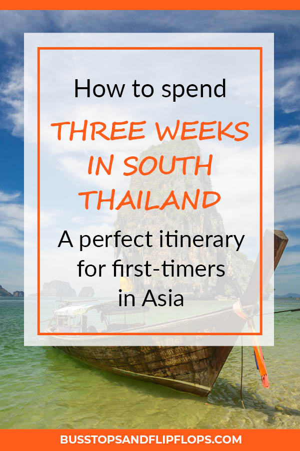 Our Southern Thailand itinerary for first-timers is an amazing way to discover the beaches, cities and islands that this beautiful country has to offer!