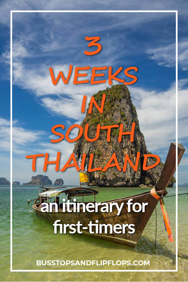 Planning a trip to Thailand? We've got you covered! Check out our South Thailand itinerary for 3 weeks of beaches, nature, culture and adventure!