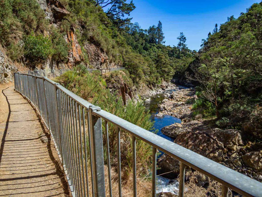 View of the Karangahake gorge