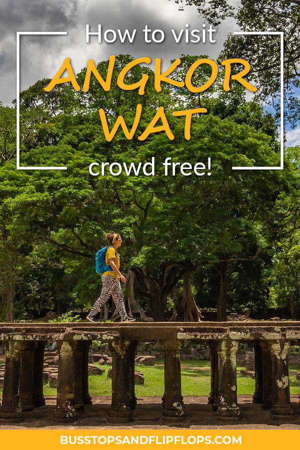 How to visit Angkor Wat without the crowds! There is a wrong way and a right way to visit the temples of Cambodia. We'll help you enjoy them in peace and quiet!