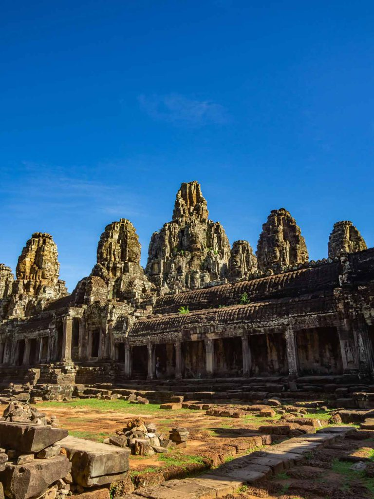 Angkor Wat without the crowds: Bayon Temple