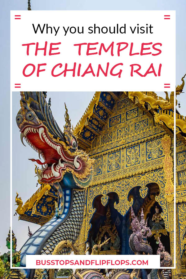 Chiang Rai is one of our favorite places to visit in Thailand! Spend some time here and be charmed by the three colored temples, the night bazaar and many other attractions.