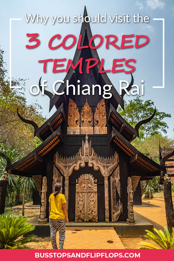 Chiang Rai rivals its bigger brother Chiang Mai in being the city of temples. The White Temple, Black Temple and Blue Temple make this lovely city a must-visit destination on your travels to northern Thailand.