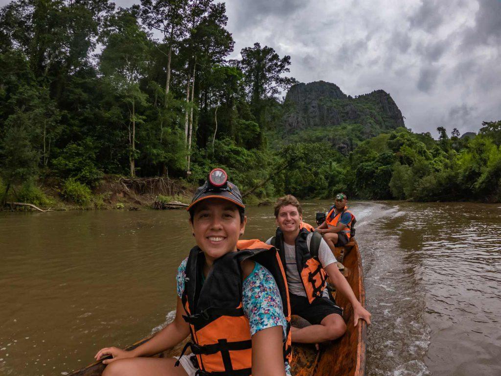 Kong Lor Cave Boat
