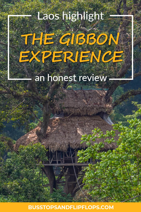 The Gibbon Experience is one of the highlights of our trip through Laos! Read our blog to find an honest review of our three days ziplining, trekking and sleeping in treehouses.